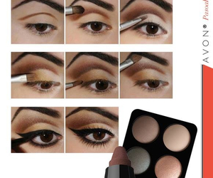 avon, brown, and eyebrows image