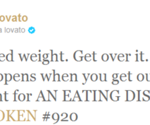 demi lovato, eating disorder, and idol image