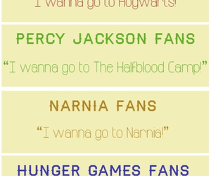 narnia, harry potter, and percy jackson image