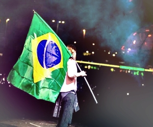 30 seconds to mars, jared leto, and brasil image