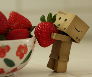 strawberry and danbo image