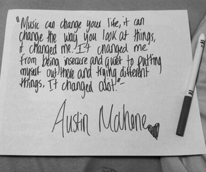 Austin, music, and quote image