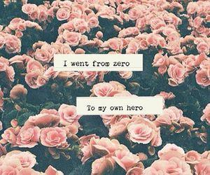 flowers and hero image