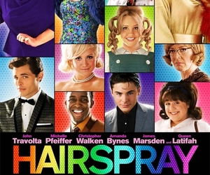 hairspray, amanda bynes, and zac efron image
