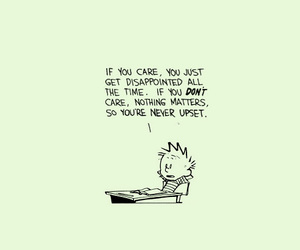 calvin, calvin and hobbes, and care image