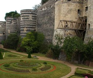 france and chateau d angers image