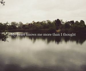 heart, tomorrow, and words image