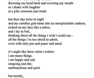 laugh, poem, and quiet image