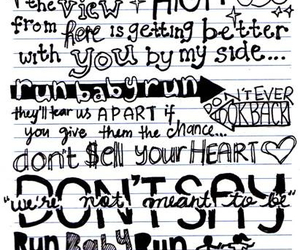 Lyrics, check yes juliet, and forever image