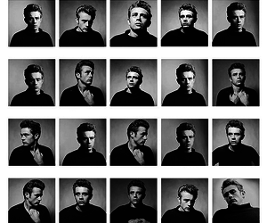 james dean and vintage image