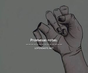 promises and promesas rotas image