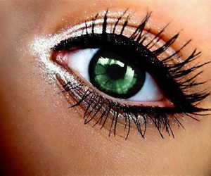 girl, beautiful, and eye image