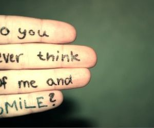 smile, text, and quotes image