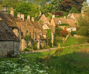 bibury, english, and gloucestershire image