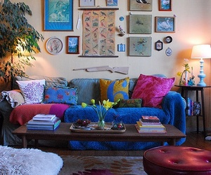 bohemian, decoration, and style image
