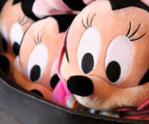minnie, disney, and pink image