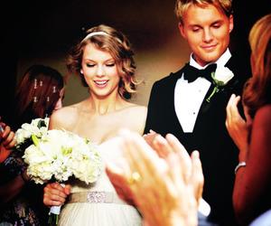Taylor Swift, mine, and wedding image