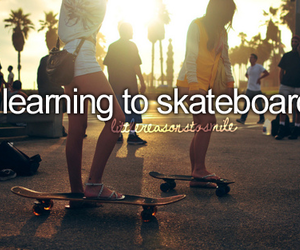 skateboard, girl, and before i die image