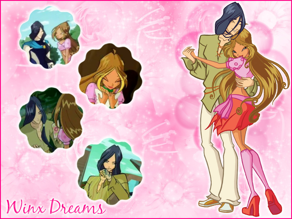 Winx Club Flora And Helia On We Heart It