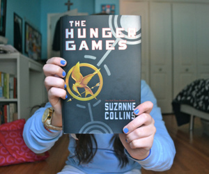 the hunger games, book, and photography image