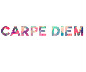 carpe diem, colorful, and text image