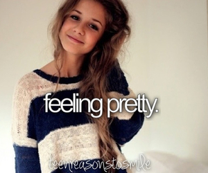 girl, pretty, and love image