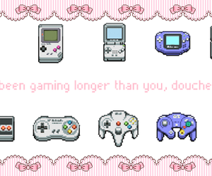game boy, gaming, and x box image