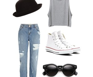 boyfriend, style, and chic image