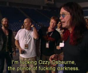 Ozzy Osbourne, Black Sabbath, and Darkness image