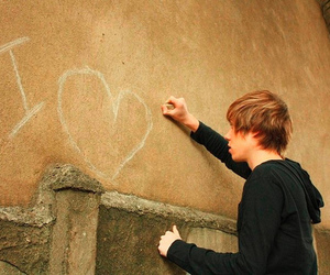 boy, love, and heart image