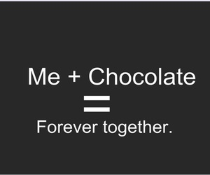 chocolate, forever, and me image
