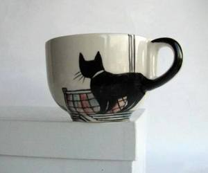 cat, cup, and mug image
