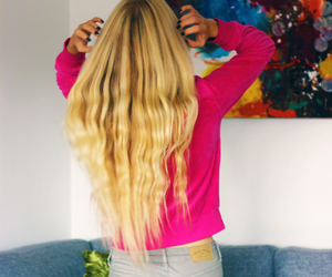 blog, blonde, and girl image