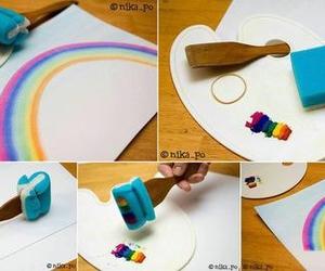 diy and rainbow image