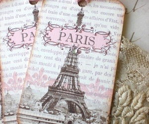 paris, pink, and vintage image