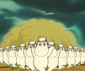 dancing and moomins image
