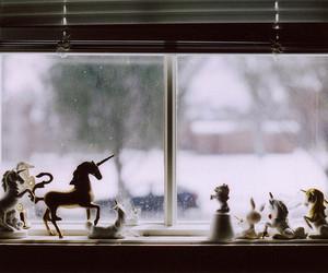 unicorn and window image