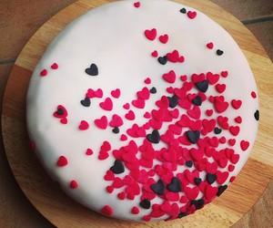 birthday, valentine, and birthday cake image