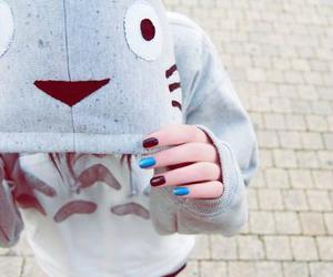 girl, totoro, and cool image