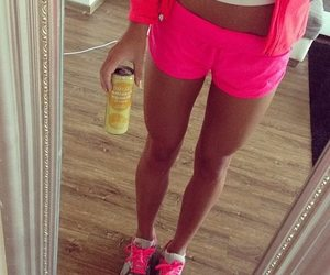 pink, fit, and fitness image