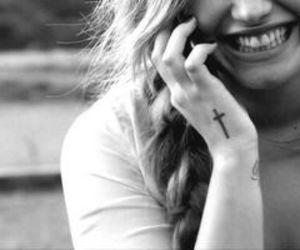 demi lovato, smile, and demi image