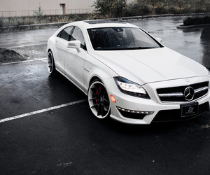 car, mercedes, and boy image