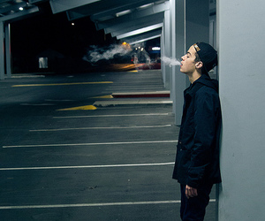 boy, cigarette, and cool image