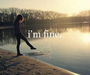 fine, i'm fine, and quote image