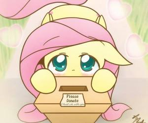 my little pony and fluttershy image