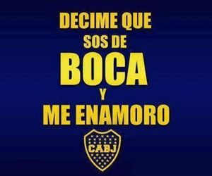 boca juniors, love, and pasion image