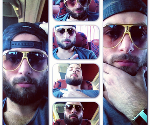 bus, Collage, and funny face image