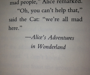 alice in wonderland, reading, and book image