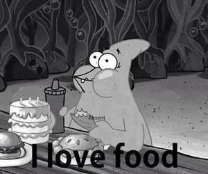 food, love, and patrick image