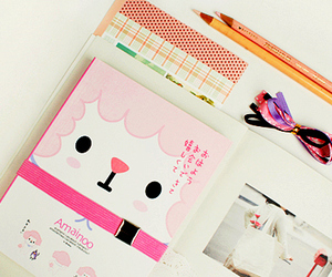 kawaii, cute, and book image